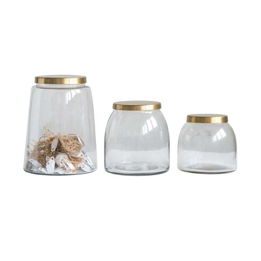 Glass Jars with Lid