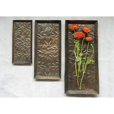 Embossed Copper Metal Tray