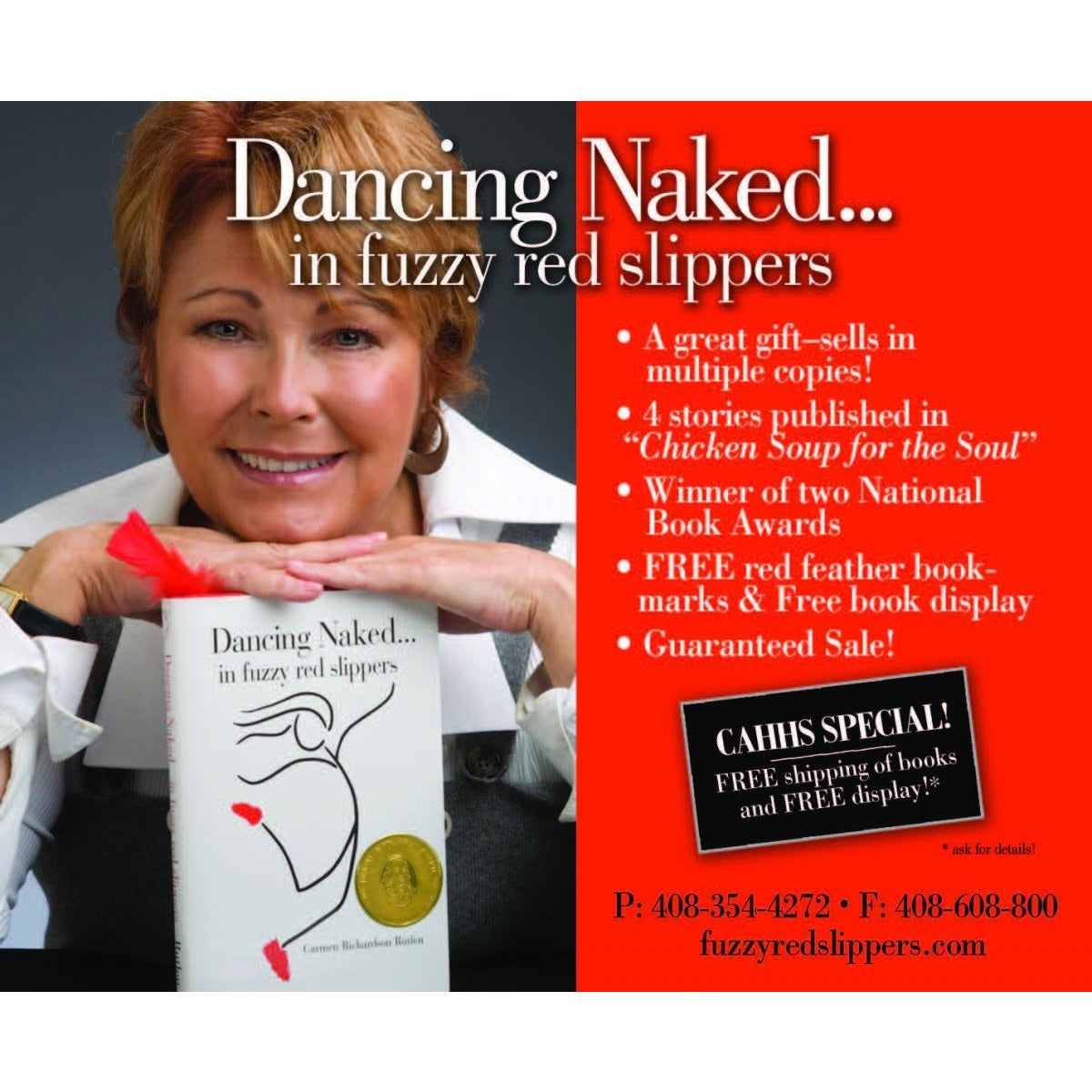 Dancing Naked in Fuzzy Red Slippers  By Carmen Richaredson Rutlen
