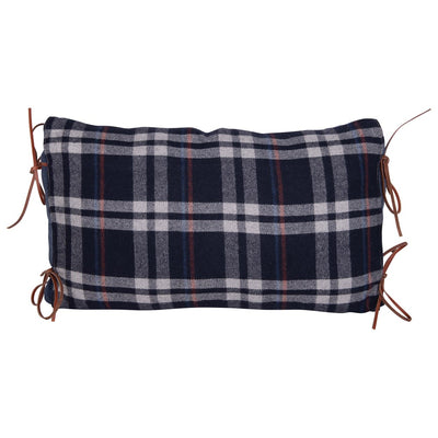 Flannel Plaid Lumbar Pillow