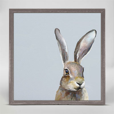 Field Bunny Mini Framed Canvas