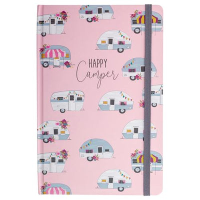 Happy Camper Hardbound Journal/notebook