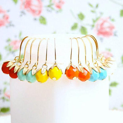 Colorful Dangle Earrings