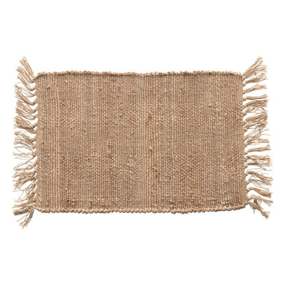 Natural Jute Placemat with tassels