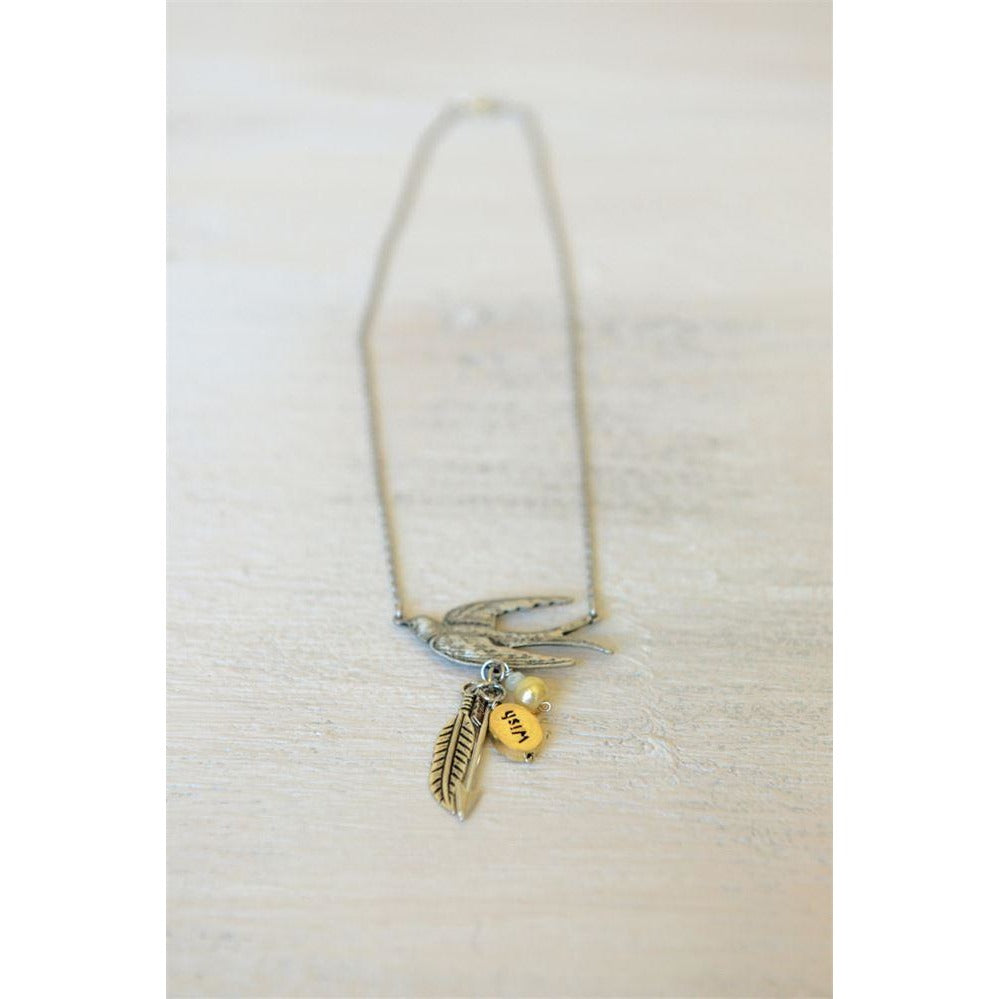 Girl on Fire Necklace