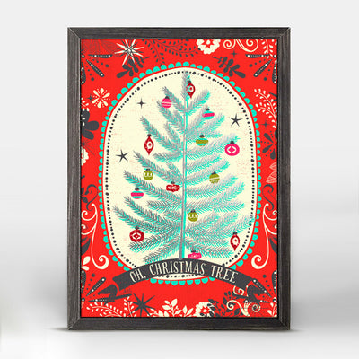 Oh Christmas Tree Embellished Canvas