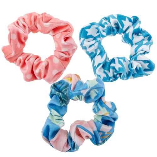Spring Time Velvet Scrunchies