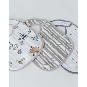 Cotton Muslin Bib 3 Pack