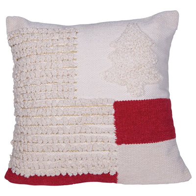 Christmas Woven Pillow