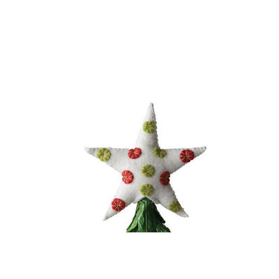 Felt Star Christmas Tree Topper