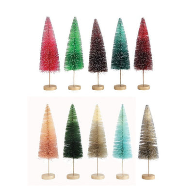 Colorful Bottle Brush Tree's- Medium