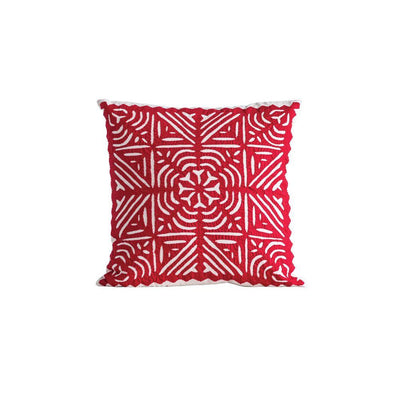 Christmas Cutwork Pillow