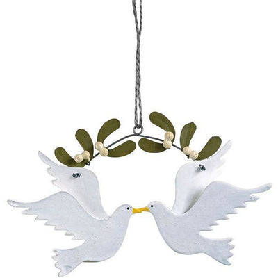 Two Turtle Doves Ornament