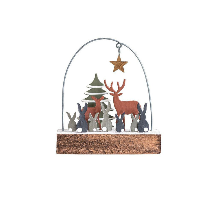 Forest Friends Ornament