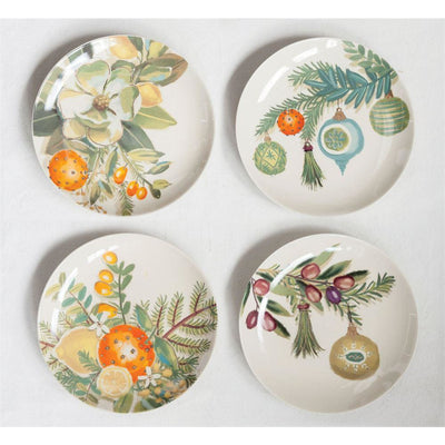 Holiday Citrus Plates