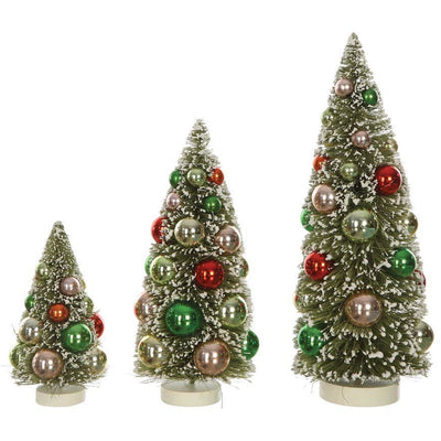 Christmas Ornament Bottle Brush Trees