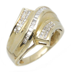 10K Yellow Gold Women Diamond Anniversary Fashion Band Ring 1.03 Ctw