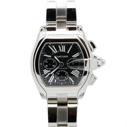 Cartier Roadster 2618 Stainless Steel Chronograph 42mm Mens Watch