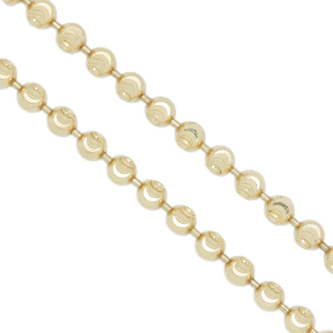 14K Yellow Gold 3.0 mm Figaro Chain Necklace 30 Inches