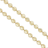 10K Yellow Gold 2.5 mm Figaro Chain Necklace 20 Inches