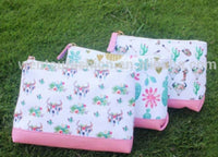 Western cosmetic bags- RTS