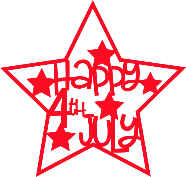 4th of July Star