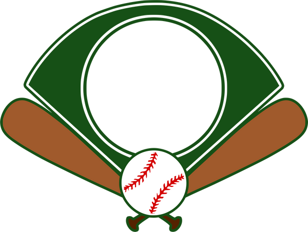 Baseball Field Monogram