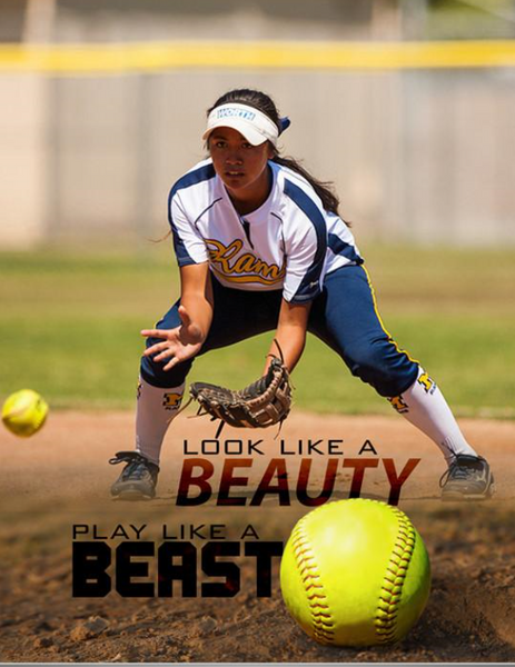 Softball Photo Banner