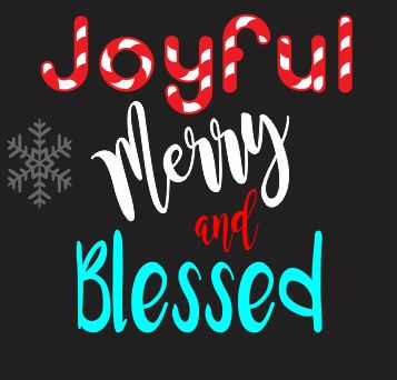 Joyful Merry & Blessed #2