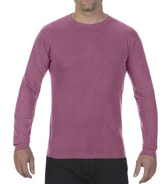 Comfort Colors Adult Heavyweight Ring Spun Long Sleeve Tee