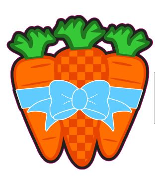 Carrots with Bow