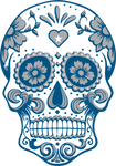 Dallas Football Sugar Skull