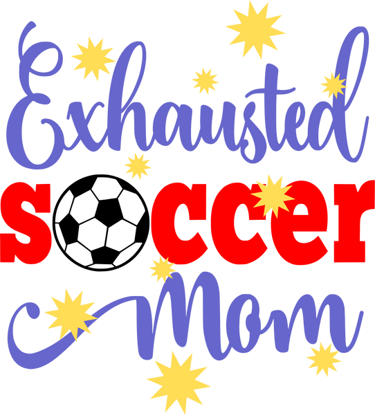 Exhausted Soccer Mom