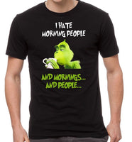 Grinch- I hate morning people
