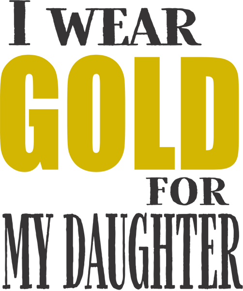 I wear____for my daughter