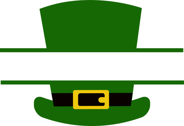 Leprechaun Hat Split 1