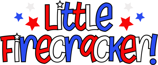Little Firecracker- Pattern