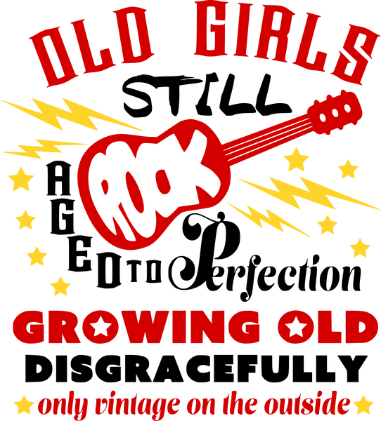 Old girls still rock