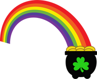 Pot of Gold- Rainbow