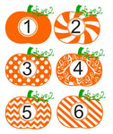 Pumpkin Monograms