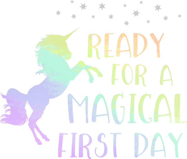 Ready for a magical 1st day