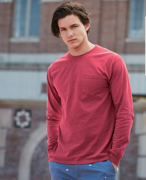 Comfort Colors Adult Long Sleeve Tee WITH pocket