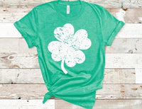 Distressed Shamrock
