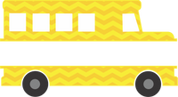Split Chevron Bus