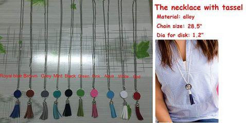 Tassel Necklaces- RTS