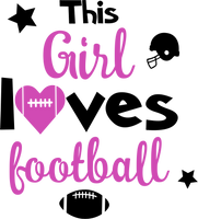 Football- This girl loves football