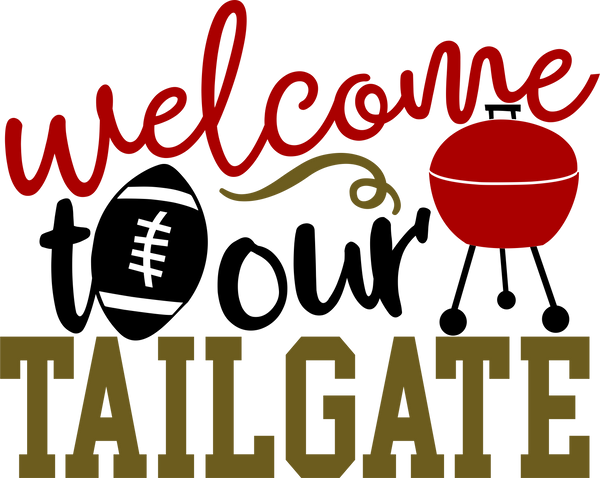 Football- Welcome to our tailgate