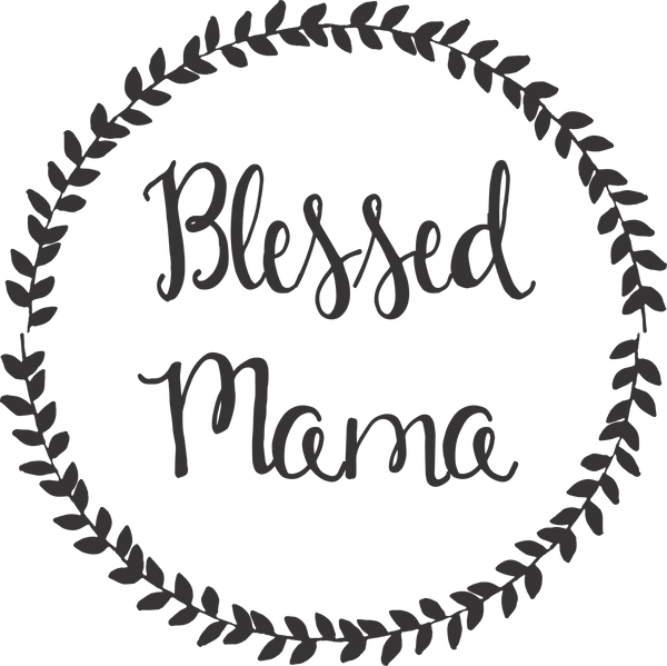 Blessed Mama with Frame