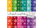 Colorful Snowflake