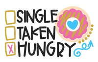 Single Taken Hungry - Donut